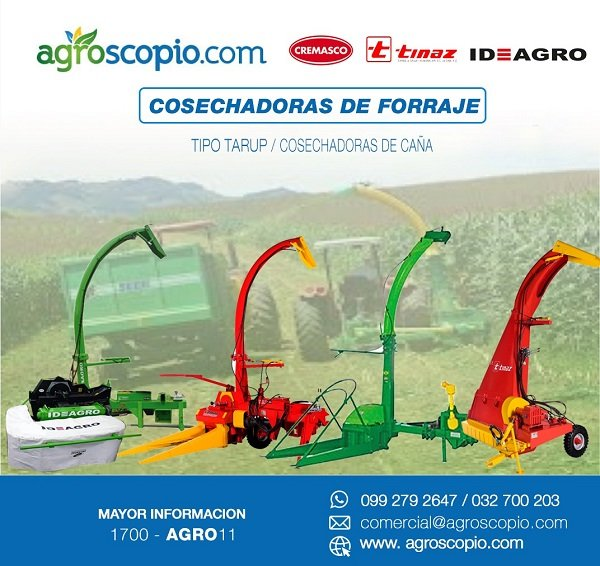COSECHADORA DE FORRAJE AGROSCOPIO